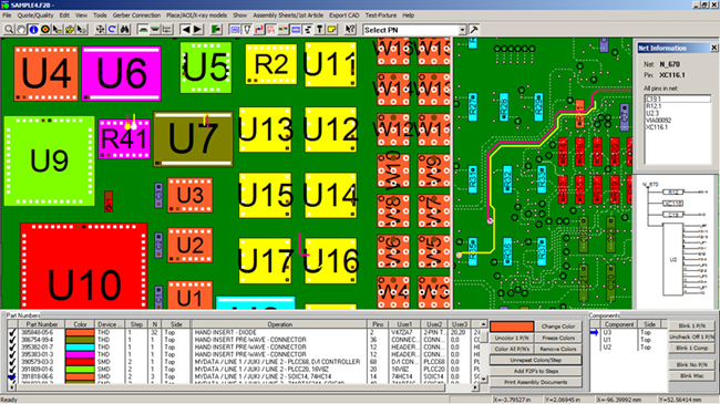 gerber viewer cad viewer - software for electronic manufacturing ...
